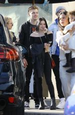 Ariel Winter Leaving Catch in West Hollywood