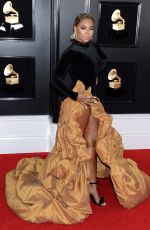 Ashanti At 61st Annual Grammy Awards Los Angeles