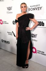 Ashlee Simpson At Elton John AIDS Foundation Academy Awards Viewing Party in LA
