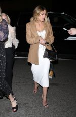 Ashley Benson Arriving at the Vanity Fair and L