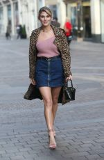 Ashley James Out in London