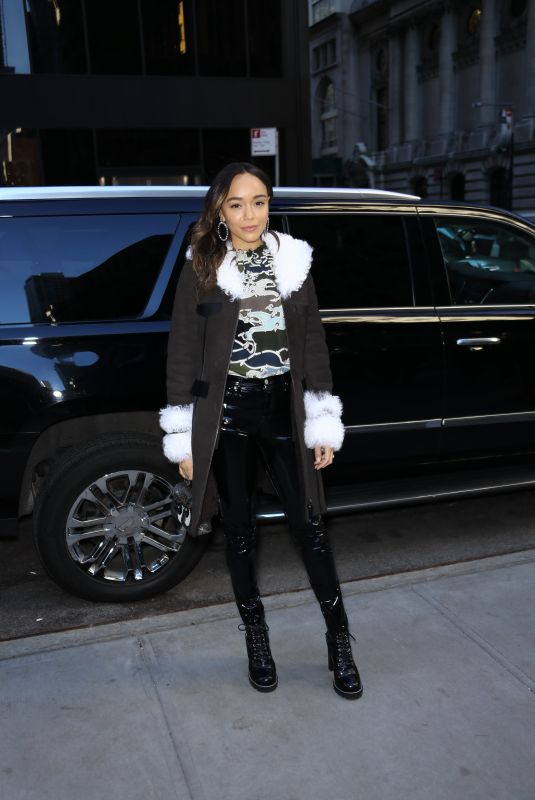 Ashley Madekwe At Long Champs Fashion Show in NYC