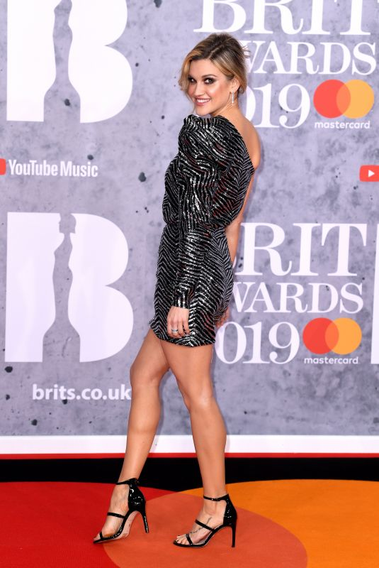 Ashley Roberts At The BRIT Awards 2019 held at The O2 Arena in London