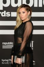 Ashley Tisdale At Republic Grammys After Party in LA