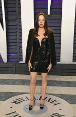 Aubrey Plaza At 2019 Vanity Fair Oscar Party hosted by Radhika Jones at Wallis Annenberg Center for the Performing Arts in Beverly Hills