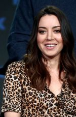 Aubrey Plaza At 2019 Winter TCA Tour - Day 7 in Pasadena