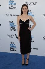 Aubrey Plaza At 34th Film Independent Spirit Awards in Los Angeles