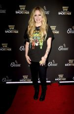 Avril Lavigne At Westwood One Radio Roundtables for the 61st Annual GRAMMY Awards in LA
