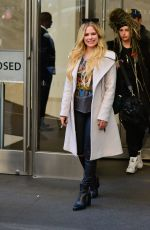 Avril Lavigne Leaving Sirius Radio in NYC