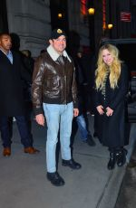 Avril Lavigne Out for dinner in NYC