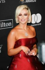 Bebe Rexha At The Recording Academy And Clive Davis 2019 Pre-GRAMMY Gala in Beverly Hills