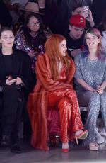 Bella & Dani Thorne At Sally LaPointe show during New York Fashion Week