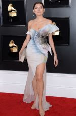 Blanca Blanco At 61st Annual GRAMMY Awards at The Staples Center in Los Angeles