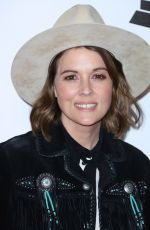 Brandi Carlile At MusiCares Person Of The Year Honoring Dolly Parton at Los Angeles Convention Center