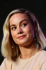 Brie Larson At press conference for