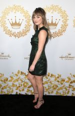 Britt Irvin At Hallmark Channel, TCA Winter Press Tour, Los Angeles