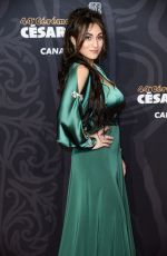 Camelia Jordana At 44th Cesar Film Awards ceremony held at the Salle Pleyel in Paris
