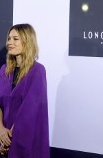 Camille Rowe At Longchamp show, Front Row, Fall Winter 2019, New York Fashion Week