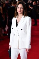 "Cara Horgan At Premiere of ""The Aftermath"" in London"