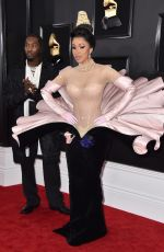 Cardi B At 61st Annual Grammy Awards Los Angeles