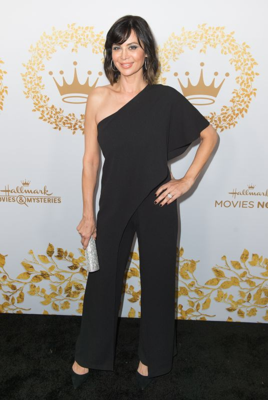 Catherine Bell At 2019 Hallmark Channel Winter TCA Press Tour party
