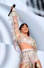 Charli XCX Performs onstage during the Taylor Swift Reputation Stadium Tour in Houston