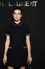 Charlotte Casiraghi Attends the Saint Laurent show as part of the Paris Fashion Week Womenswear Fall/Winter 2019/2020