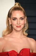 Chiara Ferragni Attents the 2019 Vanity Fair Oscar Party at Wallis Annenberg Center for the Performing Arts in Beverly Hills