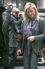 Chloe Grace Moretz Outside the Coach fashion show during New York Fashion Week