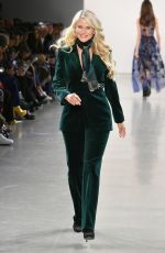 Christie Brinkley At Elie Tahari show at New York Fashion Week