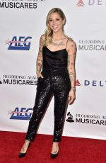 Christina Perri At MusiCares Person Of The Year Honoring Dolly Parton at Los Angeles Convention Center