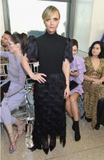 Christina Ricci At Christian Siriano show during New York Fashion Week