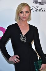 Christina Ricci At elton john aids foundation academy awards viewing party in WeHo
