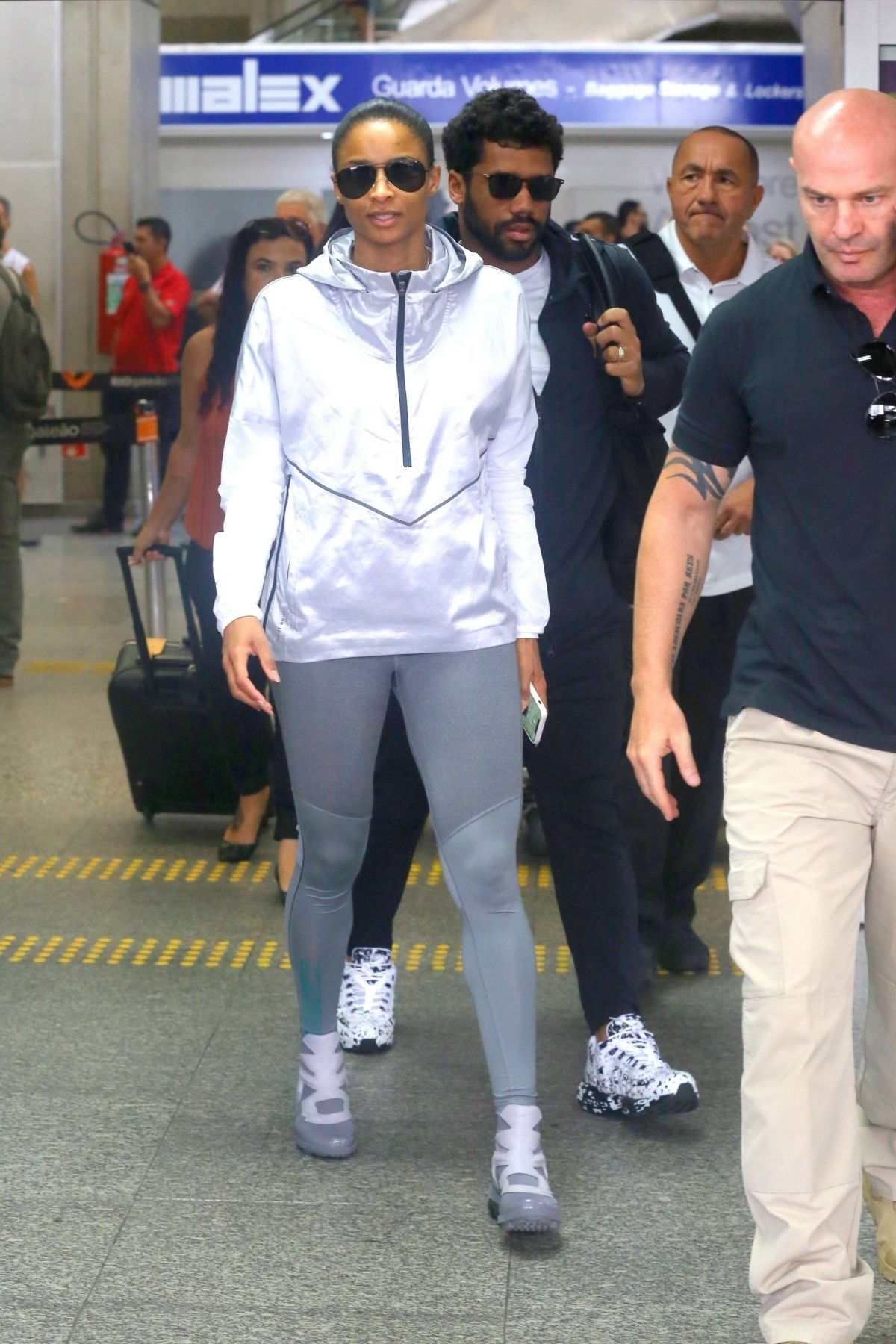 Ciara In Instyle Magazine April 2019 Issue: Ciara And Russell Wilson Land Safely In Rio Ahead Of Some