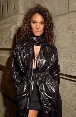 Cindy Bruna At Moncler Genius presentation, Front Row, Fall Winter 2019, Milan Fashion Week, Italy