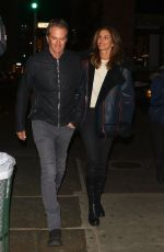Cindy Crawford and Randy Gerber head out for Valentine