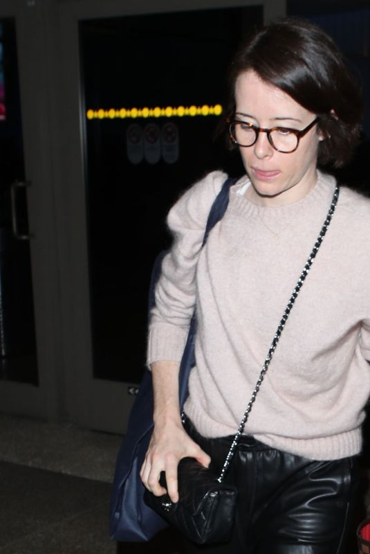 Claire Foy Arrives at LAX airport in Los Angeles