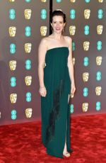 Claire Foy At BAFTA awards in London