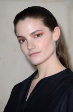 Claire Laffut Attending the Christian Dior show as part of the Paris Fashion Week Womenswear Fall/Winter 2019/2020