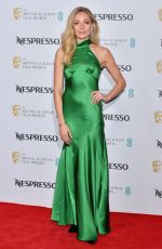 Clara Paget At Nespresso BAFTA nominees party in London