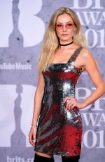 Clara Paget At The BRIT Awards 2019 in London