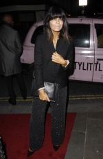 Claudia Winkleman At 72nd British Academy Film Awards Gala, The Savoy, London