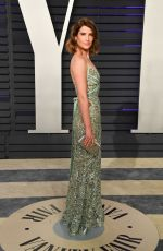 Cobie Smulders At 2019 Vanity Fair Oscar Party in Beverly Hills
