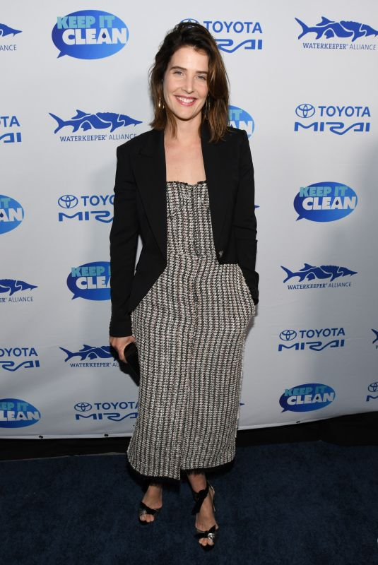Cobie Smulders At Keep It Clean Live Comedy To Benefit Waterkeeper Alliance in Los Angeles
