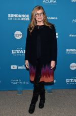"Connie Britton At ""the mustang"" premiere at the 2019 sundance film Festival"
