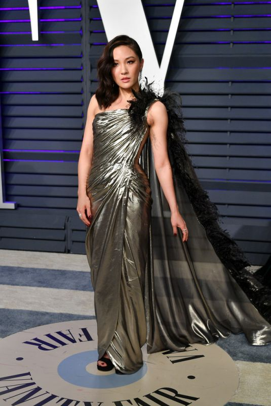 Constance Wu At 2019 Vanity Fair Oscar Party in Beverly Hills