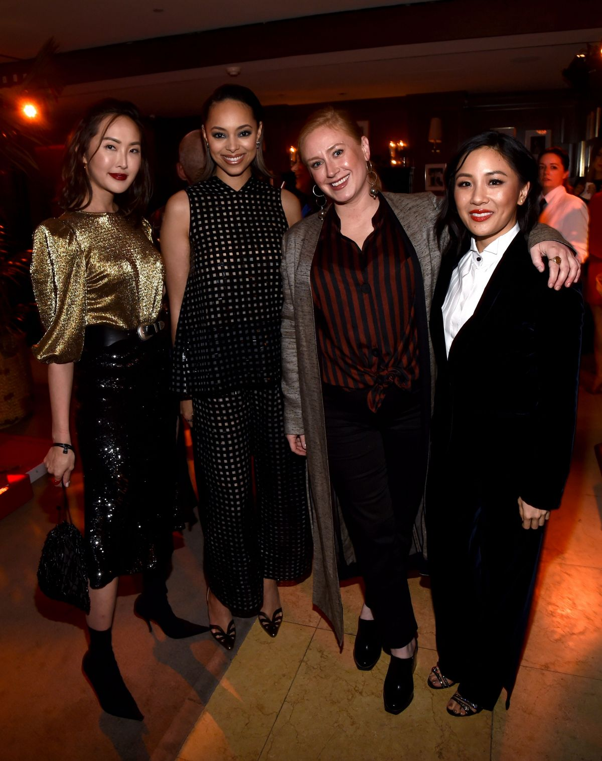 Constance Wu At Variety x Armani Makeup Artistry Dinner ...