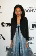 Corinne Bailey Rae At Elton John AIDS Foundation Viewing Party in Los Angeles