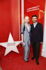 Dakota Fanning At The Armani Box Los Angeles Pop-Up Store Grand Opening at The Armani Box in West Hollywood