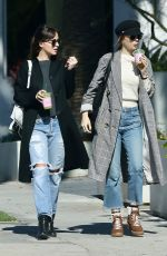 Dakota Johnson With Her Sister Stella Banderas In West Hollywood
